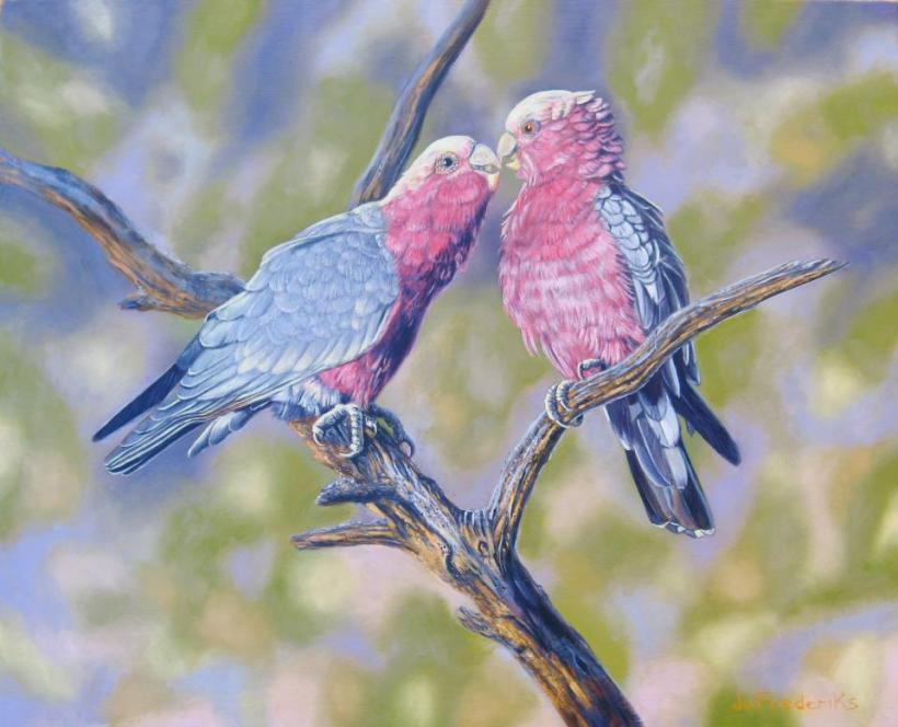 jo frederiks joyous galas branch painting