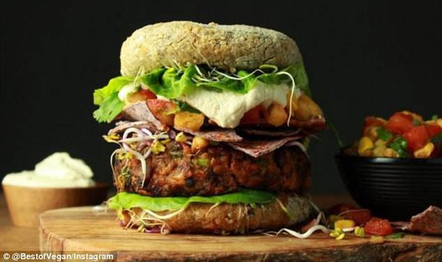 vegan burger best of vegan daily mail competition