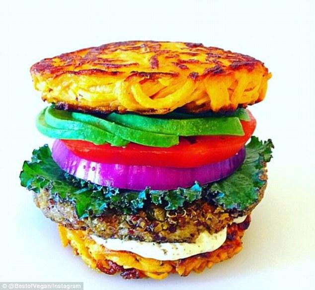 vegan burger competition best of vegan daily mail rainbow
