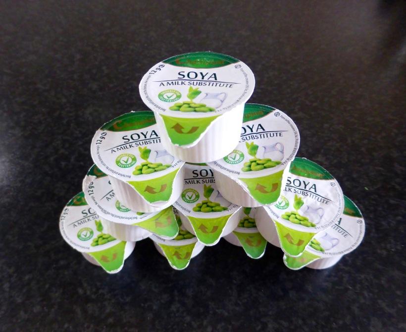 Catering soya milk substitute plant milk longlife capsules
