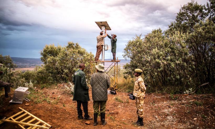 www kenya innovative camera and surveillance system infrared poaching elephants rhino wildlife crime rangers rapid response