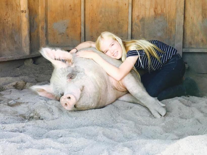lila pig earth peace foundation teen activist vegan meals schools