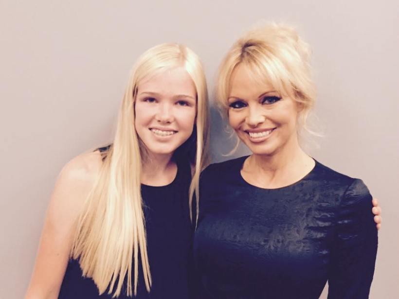 Lila Copeland Pamela Anderson Healthy Freedom Campaign LAUSD school meals vegan