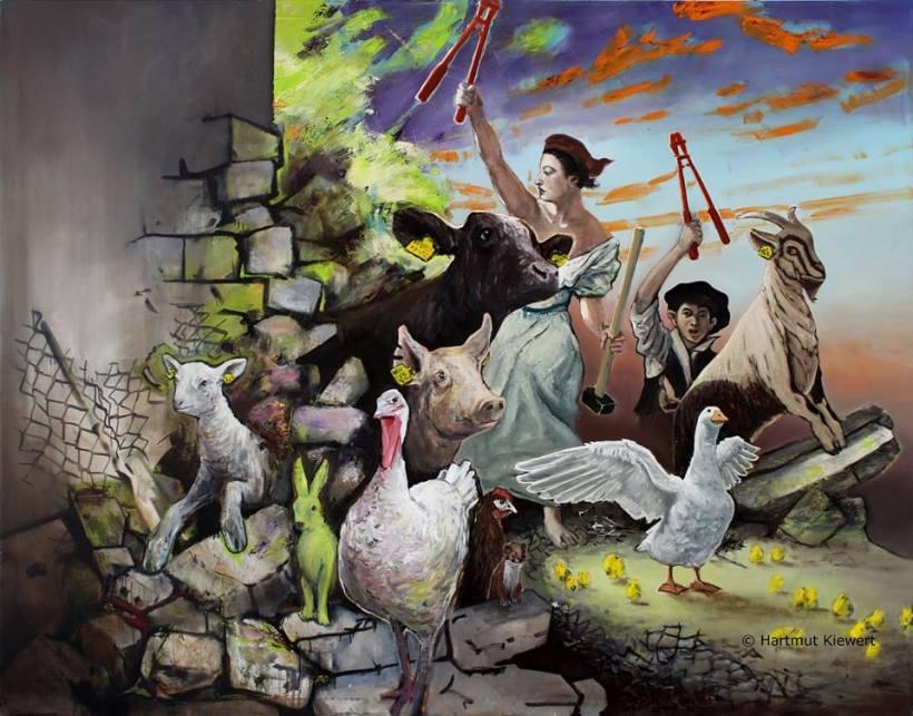 Hartmut Kiewert Animal Liberation animal rights art of compassion