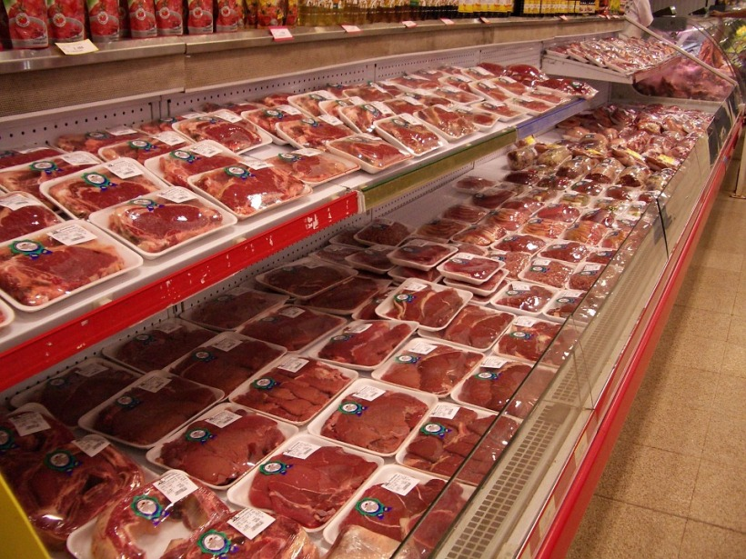 supermarket red meat packs cancer health warning