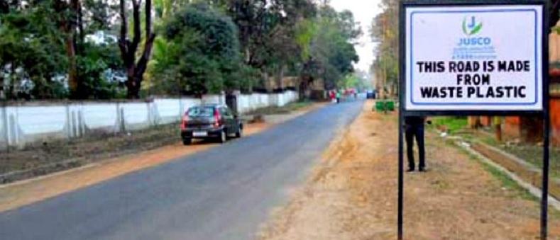 jusco plastic road India